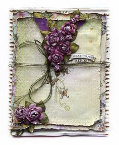 Heartfelt Creations card by Susan Smit