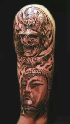 Warriors tattoo