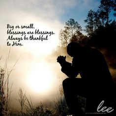 Everything you have is a blessing.  Big or small, appreciate it and be thankful to Him. #LeeBoutiqueHotel
