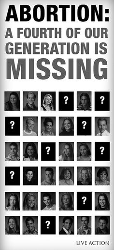 A Fourth of Our Generation is Missing by liveactionfilms, via Flickr