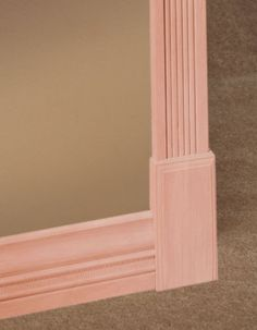 7-8-034-x2-1-2-034-x5-034-Cherry-Plinth-Base-amp-Casing-Moulding-Block Baseboard Molding, Door Molding, Moldings And Trim, Baseboards, Crown Molding, Craftsman Interior Doors, Interior Trim, Plinth Blocks, Door Trims