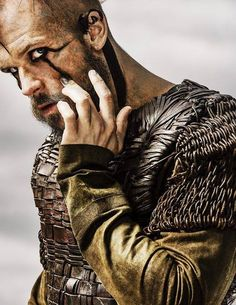 Floki - Just Floki.. LOVE him.. Gustaf Skarsgård hits it out of the park with his portrayal of this character.