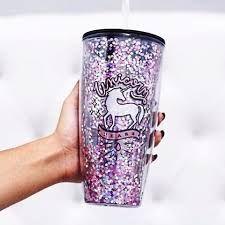 Resultado de imagem para fotos de copos com canudos unicornio