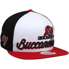 New Era Tampa Bay Buccaneers Chriograph 9Fifty Snapback Hat - Red Black  White by 7bd954c2c