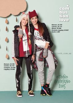 Combustion Love – moda juvenil invierno 2015 Urban Fashion, Teen Fashion, Fashion Trends, School Outfits, Kids Outfits, Moda Lolita, Outfit Invierno, Jogging, Punk