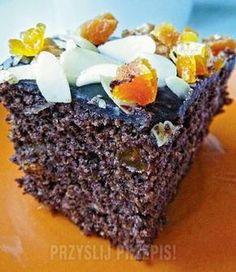 Makowiec japoński Polish Desserts, Polish Recipes, Cookie Desserts, No Bake Desserts, Baking Recipes, Cake Recipes, Dessert Recipes, Cookie Bowls, Cake Tasting
