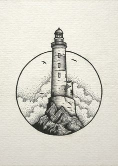 inspiration lighthouse light cloud drawing Cloud draw drawing Inspiration Light Lighthouse is part of Stippling art - Pencil Art Drawings, Cool Art Drawings, Art Drawings Sketches, Tattoo Drawings, Tattoo Sketches, Drawing Ideas, Art Inspiration Drawing, Simple Drawings, Art Inspo