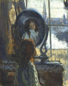 Walter Sickert - Girl at a Looking Glass, Little Rachel