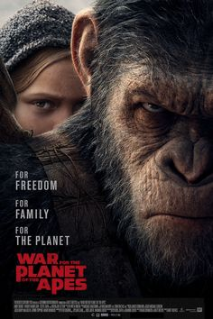 War for the Planet of the Apes (2017) | G | 2h 20min | Action, Adventure, Drama | U-NEXT |猿の惑星:聖戦記(グレート・ウォー)