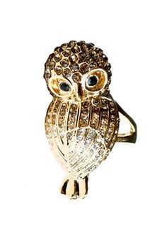 Mr. Owl Ring