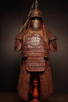 Items similar to Medieval Mongol Leather FULL Armor Kit; Easy Costumes, Cosplay Costumes, Halloween Costumes, Larp, Chinese Armor, Grandeur Nature, Pauldron, Age Of Empires, Leather Armor