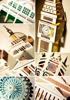 London Landmarks Pop-Up Cards from Paper Tango