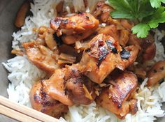 Ginger Chicken - Again, simple and few ingredients.