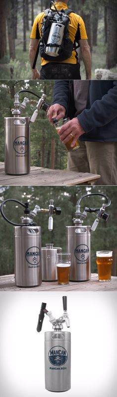 ManCan 128 Flex Kit with Perfect Pour Regulator