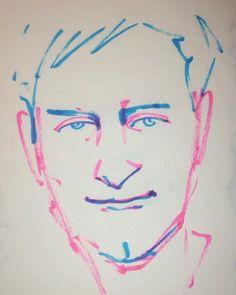 いいね!4件、コメント3件 ― @1mindrawのInstagramアカウント: 「#1mindraw #tobeymaguire #トビーマグワイア #19750627 #birthday #誕生日 #portrait #筆ペン画」
