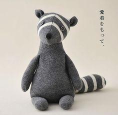 Břichopas about toys: textilní hračky / soft toys Softies, Muñeca Diy, Woodland Critters, Softie Pattern, Sock Crafts, Sock Dolls, Crochet Amigurumi, Hamster, Art Textile