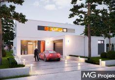 Modern house plan.  Projekt domu nowoczesnego Willa Słoneczna.   #projekt #domu #dom #projektdomu #projektydomow #projektydomów #budowa #buduje #buduję #budujedom #budujędom #house #houseplan #plan #architecture #modernhouse #modern #project #houseproject #nowoczesnydom #domnowoczesny #nowoczesny