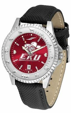 Eastern Kentucky University Colonels Competitor Anochrome- Poly/leather Band - Men's College Watches by Sports Memorabilia. $78.73. Makes a Great Gift!. Eastern Kentucky University Colonels Competitor Anochrome- Poly/leather Band