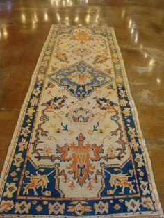 FR1652 Antique Turkish Oushak. Rugs. Home Décor. Color. Antique Rugs. Farzin Rugs. Dallas, Tx