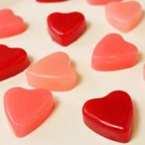 Raspberry Heart Chews Recipe - Valentine's Day Candy