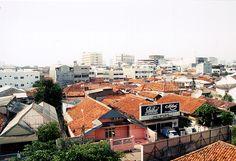 Panorama of Jakarta, Indonesia