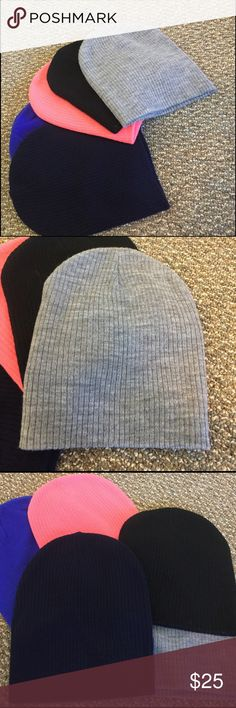 SALE🔥NWOT Beanie Knit Hat Collection ! NWOT Beanie Knit Hat Collection! They were a gift and have Never Worn these just been sitting in the closet! Great winter hat to keep you warm! Feel free to take a look at my closet to bundle for a lower price! Neff Accessories Hats