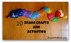 Chinese New Year - 10 Snake Activities from JDaniel4's Mom