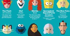 Life advice from 50 cartoon characters