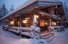 Looking forward to coming home to the Cozy cabin