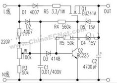 Small switching power supply without transformer - Power, switching power supply, power supply - HC net electrical industry