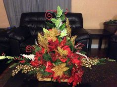 Arreglo de mesa para navidad