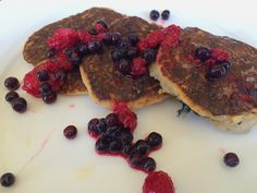 MOTHER'S DAY PANCAKES {GLUTEN FREE & VEGAN} — GLUTENEMY Ihop Pancakes, Vegan Pancakes, Vegan Gluten Free, Gluten Free Recipes, French Toast, Breakfast, Food, Morning Coffee, Meal