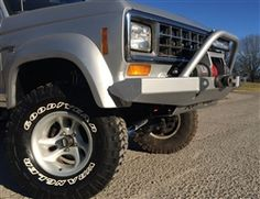 Winch Plate Bumper, 83-88 Bronco II & Ford Ranger First Generation