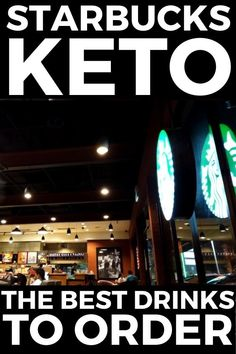 You will love these Keto Starbucks ideas for your Ketogenic Diet. These are the top 10 Starbucks Drinks you can get on your Ketogenic Diet that will help you stay in ketosis and lose fat fast. These healthy, gluten free, and easy low carb Keto Starbucks orders that include Keto Pink Drink, Keto Passion Tango Iced Tea, Keto Chai Tea Latte, build your own and lots of other fun ideas.