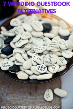 7 Unique Wedding Guestbook Alternatives - DesignedByBH