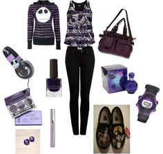 nightmare before christmas inspired outfit   I must have all of the above