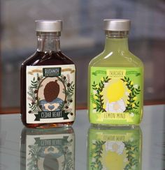 Wellhead - Cedar Heart and Lemon Mind packaging design blog World Packaging Design Society│Home of Packaging Design│Branding│Brand Design│CPG Design│FMCG Design