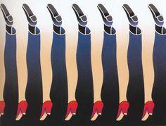 Bij dit plaatje kan je twee dingen zeggen: 1. De vrouwen benen zijn de vorm en de mannenbenen de restvorm. 2. Of omgedraaid waarbij de mannenbenen de vorm zijn en de vrouwenbenen de restvorm.