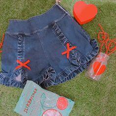 4.20発売 whip denim SP/T price 8,000(+tax)yen : #Swankiss #SS #新作 #pants #denim #ribbon
