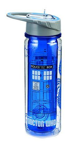 Vandor 16075 Doctor Who Tritan Water Bottle, 18-Ounce, Multicolored Vandor http://smile.amazon.com/dp/B00QJULYHS/ref=cm_sw_r_pi_dp_l38Nvb0QEMR6A