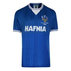 ddf4c2cd454 Everton FC Mens Official 1984 FA Cup Final Shirt  Mens retro Everton FC t- shirt. Replica of the 1984 FA cup final shirt. Features the Toffees  embroidered ...
