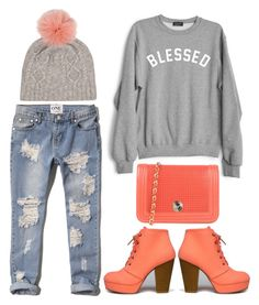 """""""blessed"""" by ecem1 ❤ liked on Polyvore featuring Private Party, Abercrombie & Fitch, Fiorangelo and Qupid"""
