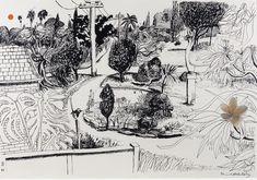 Prints & Graphics - Brett Whiteley - Page 12 - Australian Art Auction Records Art And Illustration, Ink Illustrations, Dancing Drawings, Art Drawings, Kunst Der Aborigines, Social Art, Aboriginal Art, Australian Artists, Art Auction