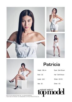 Patricia Gunawan [Indonesia] -- Cycle 4 Asia's Next Top Model, Girl Crushes, Girl Group, Ballet Skirt, Photoshoot, Poses, Beauty, Dresses, Magazine