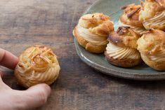 Hazelnut Praline Choux Bun Recipe - Bureau of Taste