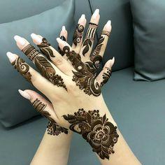 Best Arabic Mehndi Design For Wedding Season in 2019 - Mehandi Design Latest Mehndi Designs Hands, Best Arabic Mehndi Designs, Modern Henna Designs, Floral Henna Designs, Mehndi Designs Book, Finger Henna Designs, Mehndi Designs 2018, Mehndi Designs For Girls, Mehndi Design Pictures
