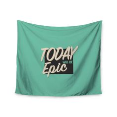 Kess InHouse Juan Paolo 'Epic Day' 51x60-inch Wall Tapestry