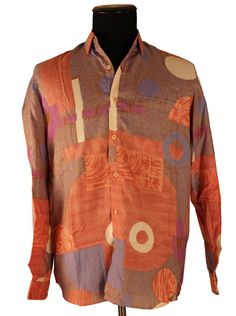 Vintge 1980's G Govind Tailor Men's Shirt / by TheHoneyWitch