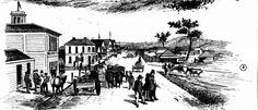 Township of Ballarat, from Bath's Hotel 1855