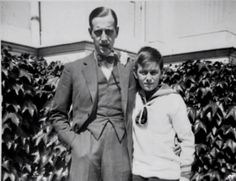 "Grand Duke Dmitri Pavlovich Romanov of Russia and his nephew Prince Lennart Bernadotte of Sweden ""AL"